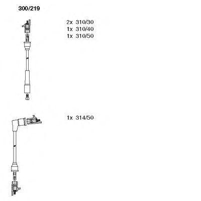 Комплект проводов зажигания BREMI 300219