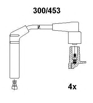 Комплект проводов зажигания BREMI 300453