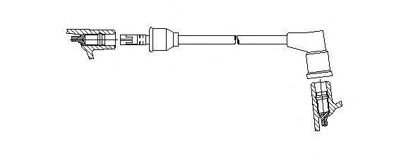 Провод зажигания BREMI 31440