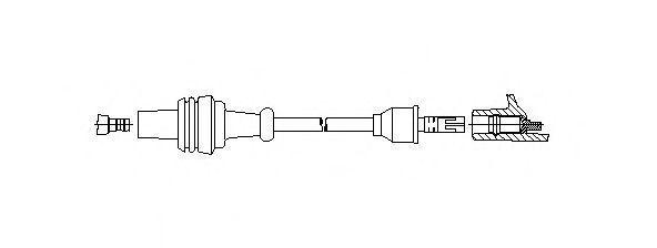 Провод зажигания BREMI 320110