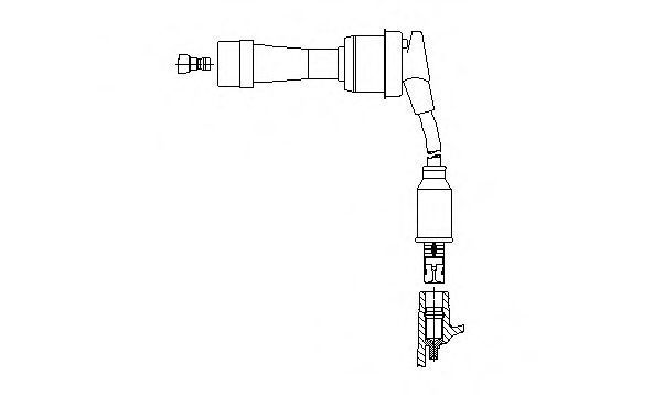Провод зажигания BREMI 34732