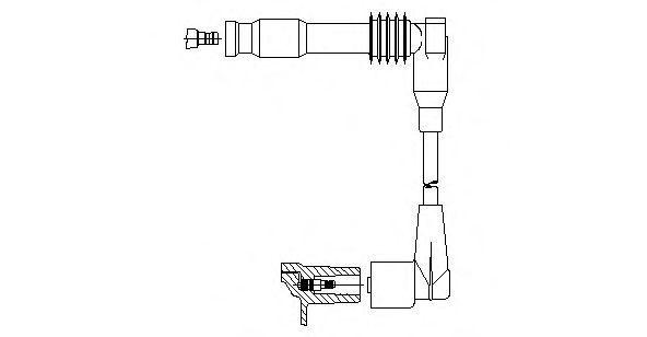 Провод зажигания BREMI 38118