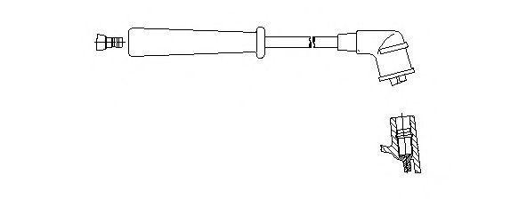 Провод зажигания BREMI 3A2387