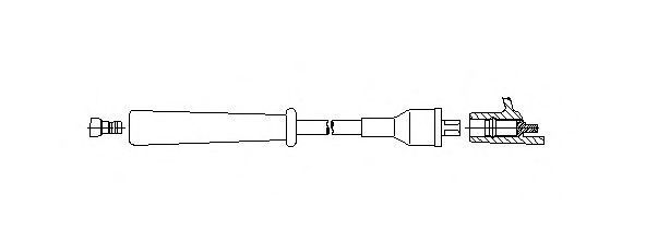 Провод зажигания BREMI 3A3475