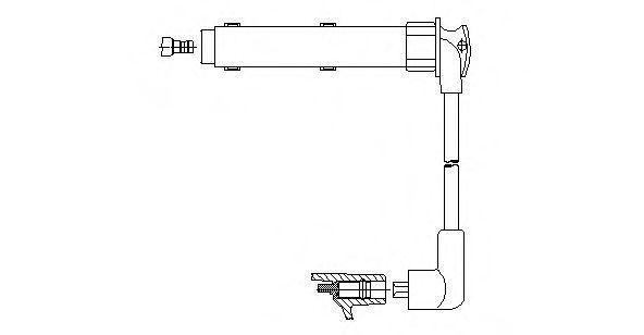 Провод зажигания BREMI 42930