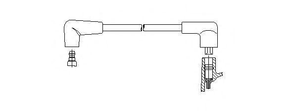 Провод зажигания BREMI 44549