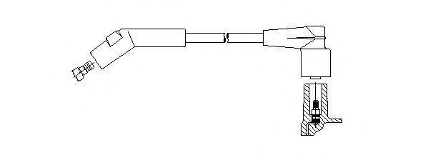 Провод зажигания BREMI 48932