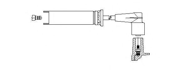 Провод зажигания BREMI 49038