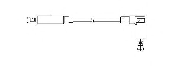 Провод зажигания BREMI 61330