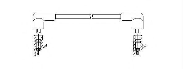 Провод зажигания BREMI 62790