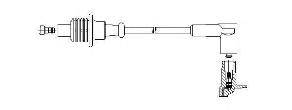 Провод зажигания BREMI 63140