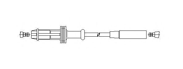 Провод зажигания BREMI 63245