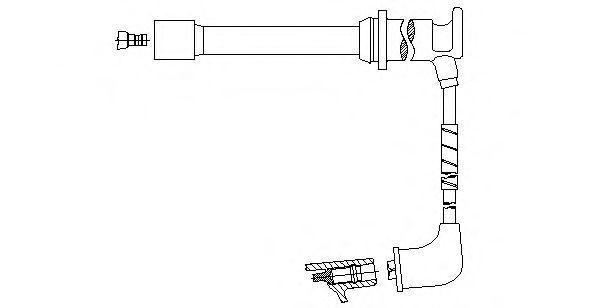 Провод зажигания BREMI 658E102