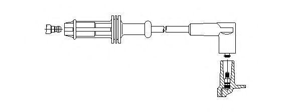 Провод зажигания BREMI 66628