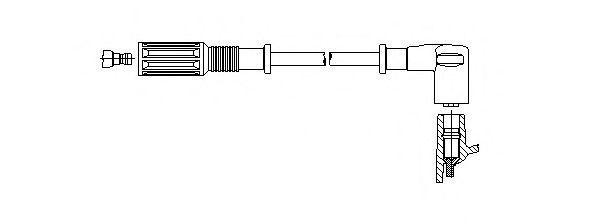 Провод зажигания BREMI 67028