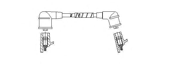 Провод зажигания BREMI 6A07E70