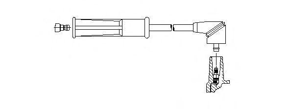 Провод зажигания BREMI 6A2927