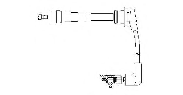 Провод зажигания BREMI 6A7623