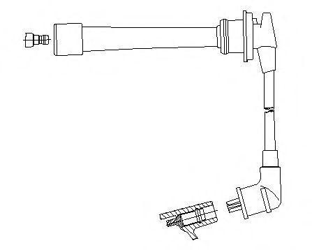 Провод зажигания BREMI 6A8224