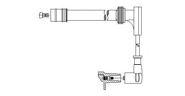 Провод зажигания BREMI 72625
