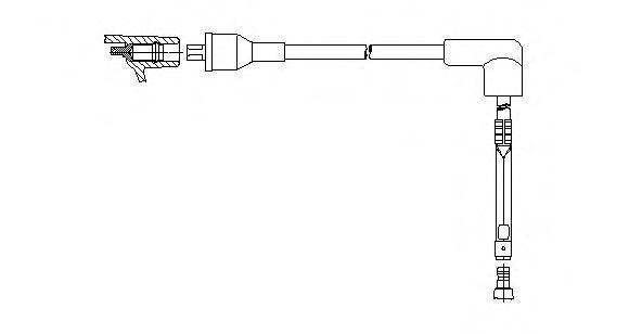 Провод зажигания BREMI 76833