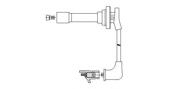 Провод зажигания BREMI 78157