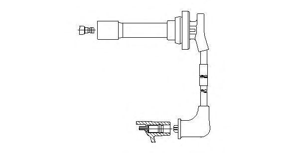 Провод зажигания BREMI 781E34