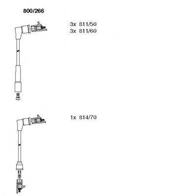 Комплект проводов зажигания BREMI 800266