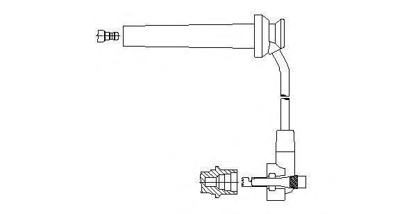 Провод зажигания BREMI 89129