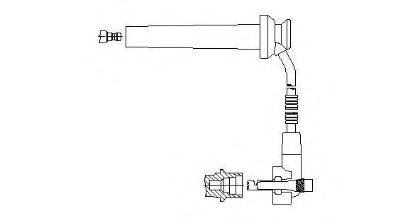 Провод зажигания BREMI 891E102