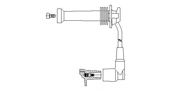 Провод зажигания BREMI 89714