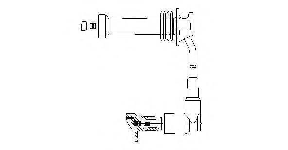 Провод зажигания BREMI 8A1715