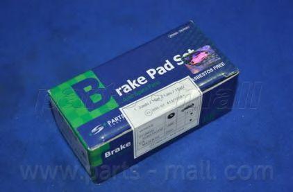 Колодки тормозные дисковые PMC PKAE09