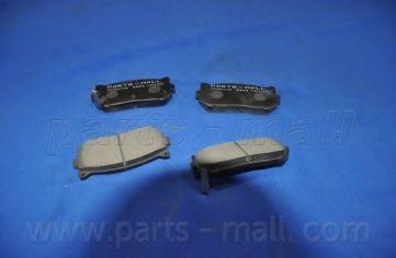 Колодки тормозные PMC PKB-008