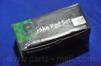 Колодки тормозные PMC PKC-008