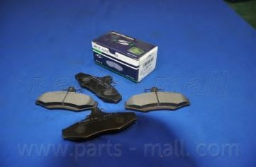 Колодки тормозные PMC PKC-010