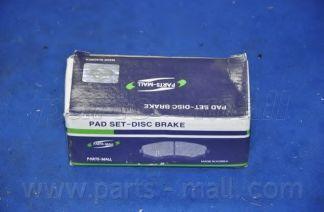 Колодки тормозные PMC PKC017