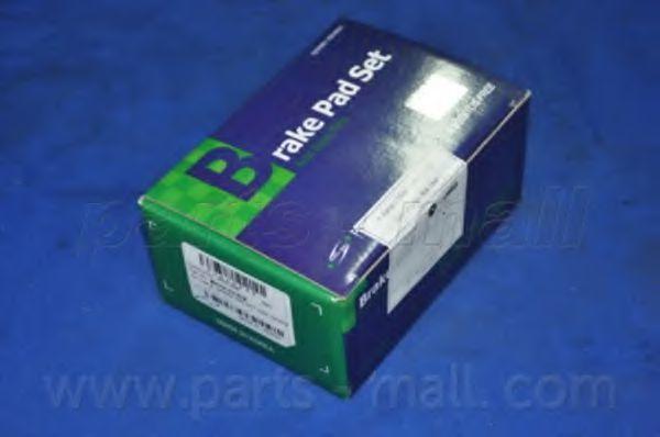 Колодки тормозные PMC PKH-E06