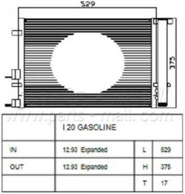Конденсор кондиционера PMC PXNCA103
