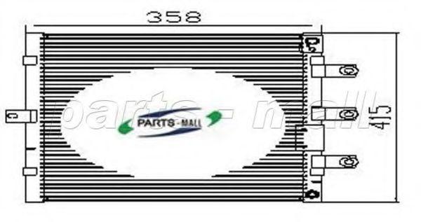 Конденсатор, кондиционер CAR-DEX PXNCA114