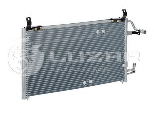 Радиатор кондиционера LUZAR LRAC0547