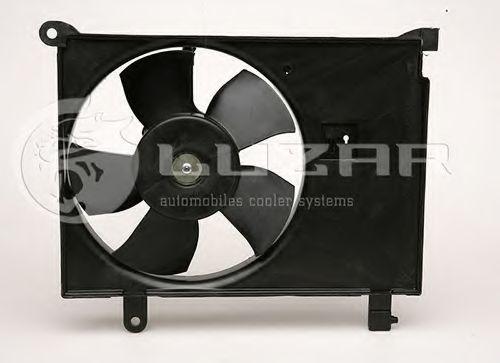 Вентилятор охлаждения двигателя LUZAR LFC0580