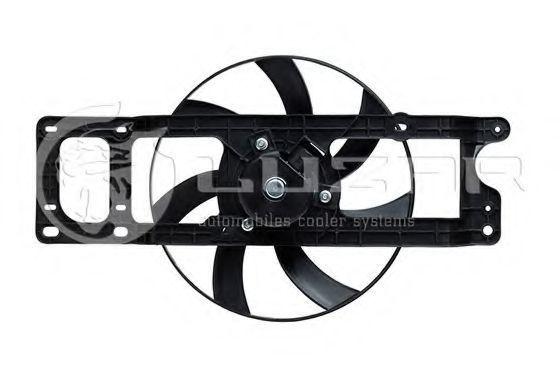 Вентилятор охлаждения двигателя LUZAR LFC0970