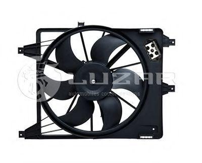 Вентилятор охлаждения двигателя LUZAR LFC0969