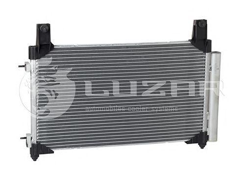 Радиатор кондиционера с ресивером LUZAR LRAC0575
