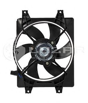 Вентилятор радиатора кондиционера LUZAR LFAC0850