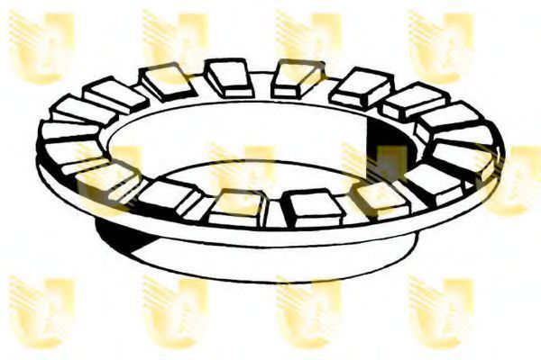 Опорное кольцо, опора стойки амортизатора UNIGOM 390148