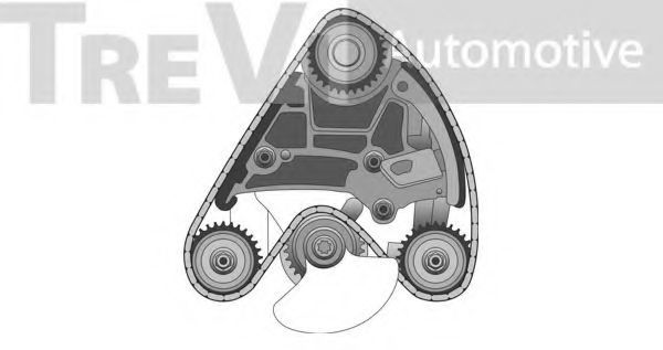 Комплект цели привода распредвала TREVI AUTOMOTIVE KC1018