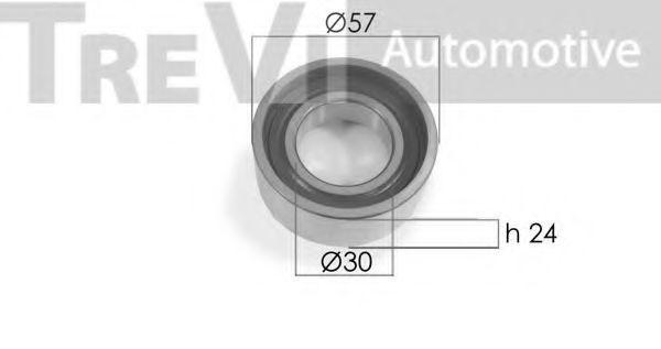 Паразитный / Ведущий ролик, зубчатый ремень TREVI AUTOMOTIVE TD1506