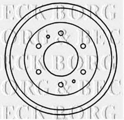 Тормозной барабан BORG & BECK BBR7155